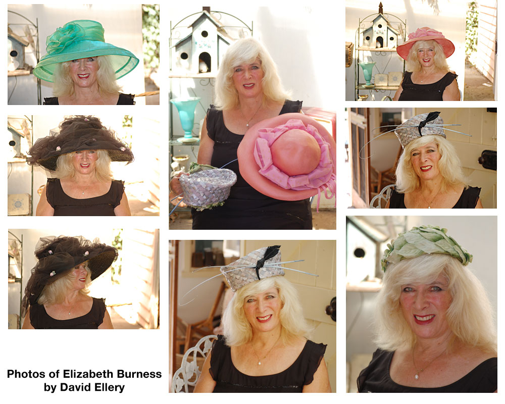 costume hats presented by Elizabeth Burness